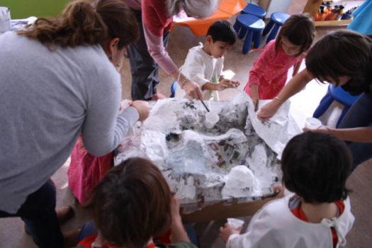 Atelier Eveil Plastique - Association Les Créateliers