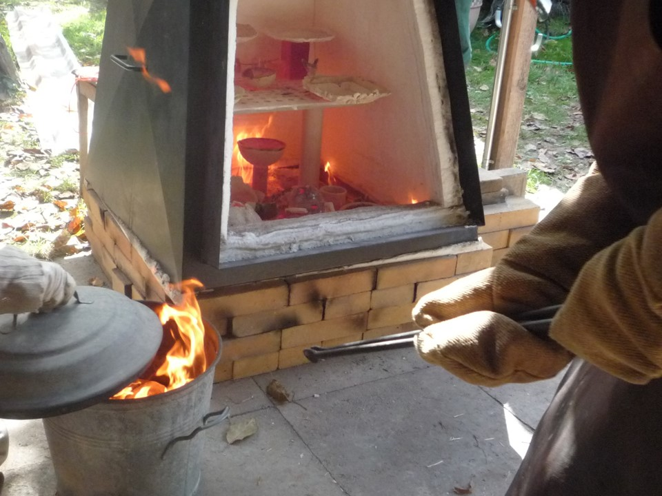 Céramique cuisson Raku »  Stages adultes & ado, Stages été
