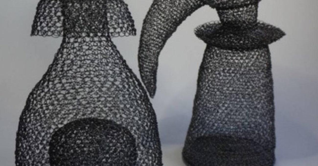 Points noués sculpture